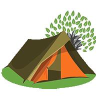 """Natuurcamping """"De Altena"""" Zeewolde logo"""